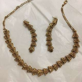 Champagne Necklace and hangings