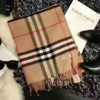 Burberry labelled scarf, with tags as original