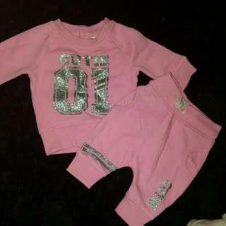 Baby Berry Pink Cutie Tracksuit