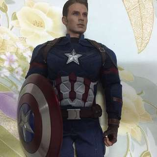 Hot toys Captain America Civil War
