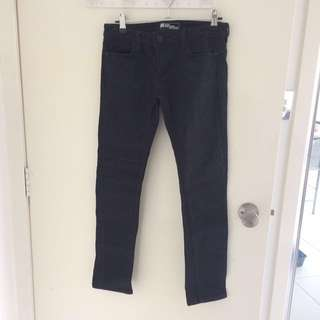 Jeanswest black petite super skinny jeans size 6