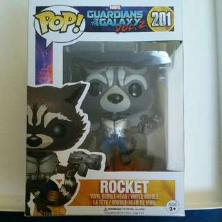 Rocket Pop Vinyl GOTG Vol. 2 NO. 201