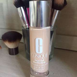 Clinique beyond perfecting and concealing foundation