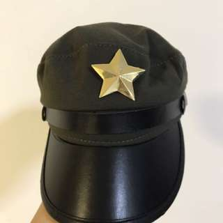 Military cap/ hat/ headgear with a star badge