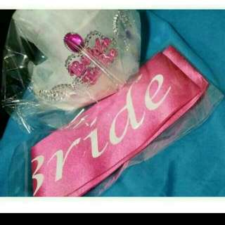 Bride to Be Party Pack(Ready stock)