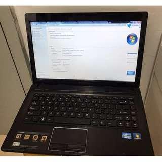 Laptop LENOVO G480 (For Study, Internet Surfing)