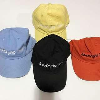 Honest Girls Club Caps