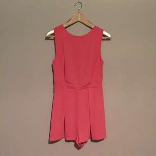 Pink Cocktail Romper From TOPSHOP
