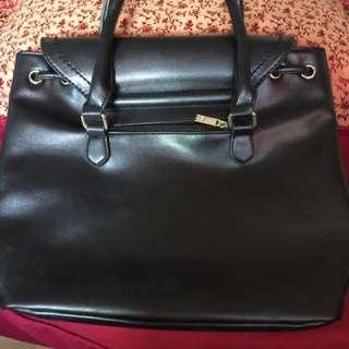 Original Girbaud Office Black Bag