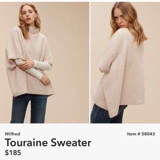 Aritzia Wilfred Touraine Sweater