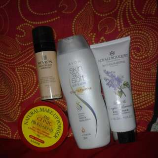 Lots Of Skin Products Avon Lotion Revlon Photoready 3w CLINIC powder