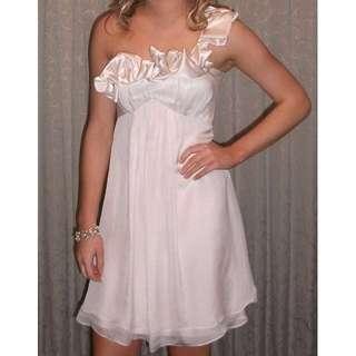 Truese Dress Champagne color Size 6/8