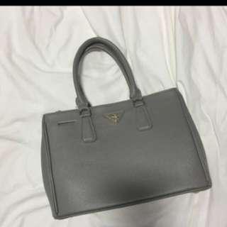 Grey Prada NA Handbag