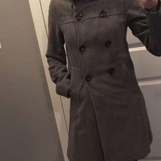 Grey wool jacket