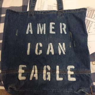 AE DENIM BAG NEW WITH TAG