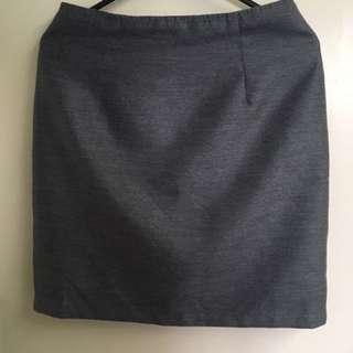 Grey Wanko skirt size 36