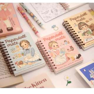 PaperDoll Mate Ringed Notebook