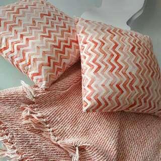 Sheridan Pillows & Throw