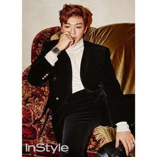 Close 16 Sep SAT! [COMES WITH EXCLUSIVE KOREA ONLY POSTER!] 인스타일 InStyle  2017.10  - Kang Daniel 2017 Aug Wanna One magazine