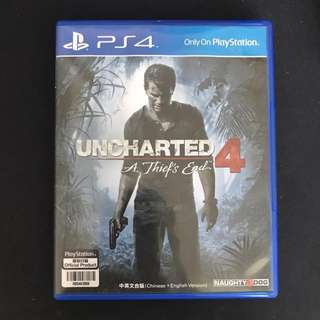 PS4 UNCHARTED4 : A Thief's End