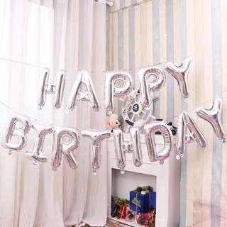 可吊掛式Happybirthday生日派對必備佈置🎈