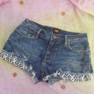 LEE Denim Mini Shorts - Size 6