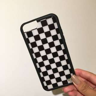 Wildflower Checkered iPhone 6/6s Case
