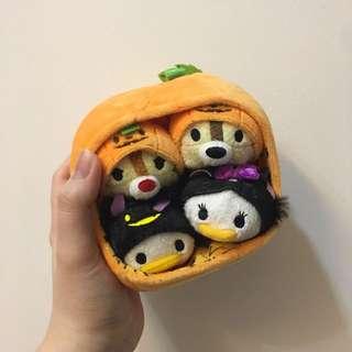 2015 halloween jack-o-lantern tsum tsum inspired bag set
