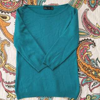 Zara Quater Sleeves Sweater