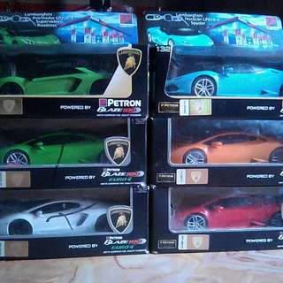 LAMBORHINI toy car made by PETRON, Many color 250/each