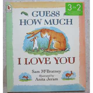 Children book - Guess how much I love you - Walker books