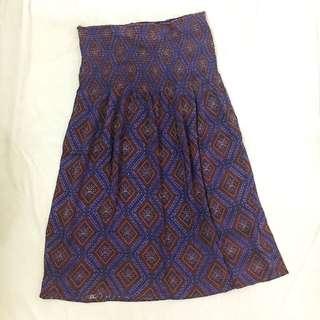 Forever 21 Purple Aztec Tube Dress