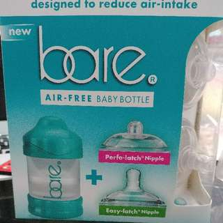 bare air free baby bottle