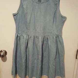 Denim dress (size 14)