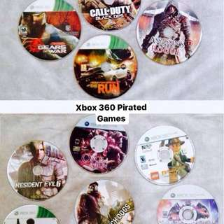 XBOX 360 GAMES (Pirated)