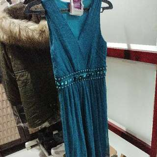 Dress Hijau Tosca #oktosale