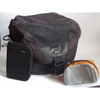 超級平放售Lowepro Stealth Reporter 200AW 相機斜孭袋