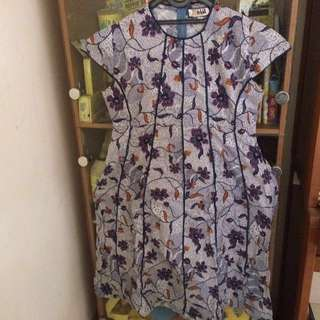 Dress Batik  ( big size )