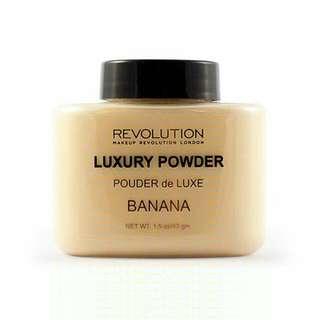 Authentic Makeup Revolution Banana Powder