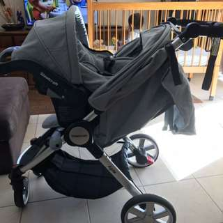 Pram and Capsule Steelcraft Agile Travel System