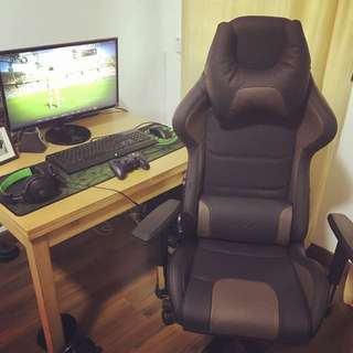 Genuine Leather Gaming Chair