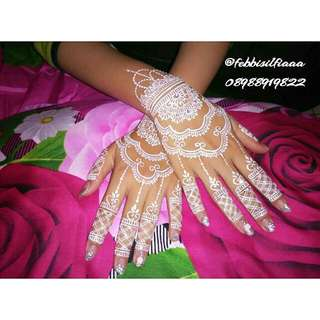 Jasa HENNA ART for Wedding/Wisuda/Party/Fun