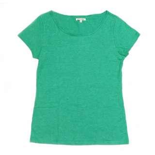 Colorbox Basic T-Shirt/Kaos Hijau Tosca