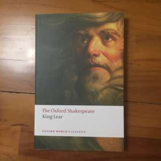 The history of king Lear: the Oxford Shakespeare (bn)