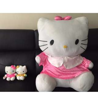 Limited Edition Hello Kitty Soft Toys