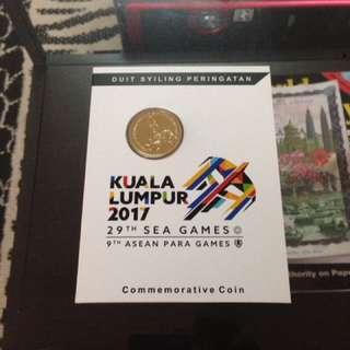 Coin peringatan sukan sea 2017