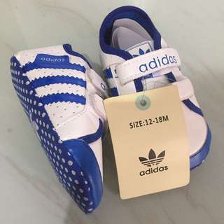 Adidas baby shoes 12-18 mos