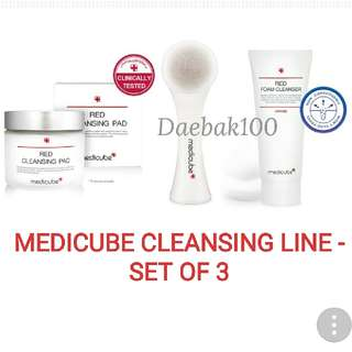 Medicube Red Cleansing Line - set of 3