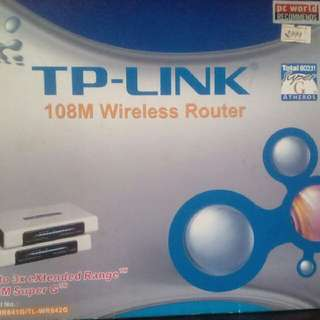 TP-LINK 108M Wireless Router