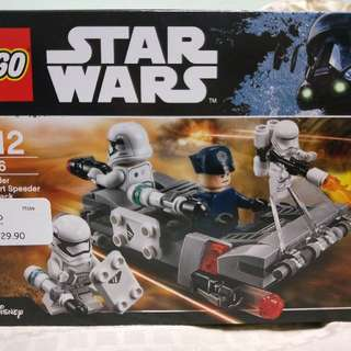 Lego 75166 First Order Transport Speeder